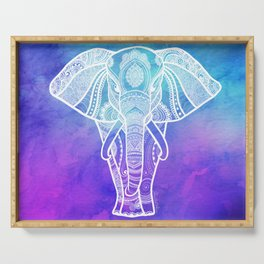 Indian Elephant #2 Serving Tray