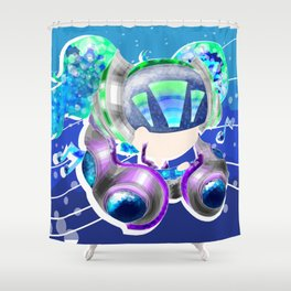 DJ Sona Shower Curtain