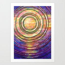 Ultra Violet Art Print