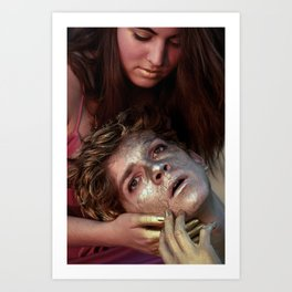 The Midas Touch  Art Print