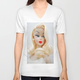 Evelyn Doll Unisex V-Neck