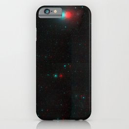 Endless space pattern 3D iPhone Case