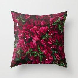 Carmel Blooms Throw Pillow