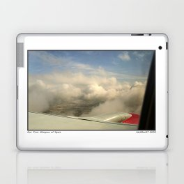 Just through the clouds Laptop & iPad Skin