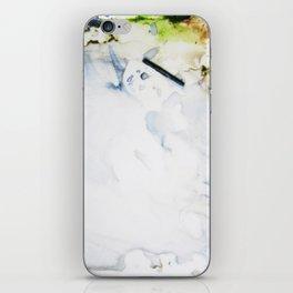 Watercolor fun mess iPhone Skin