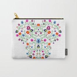 Folk Pattern #3 Carry-All Pouch