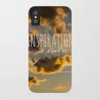 inspiration iPhone & iPod Cases featuring Inspiration by Michelle McConnell