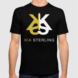 Kia Sterling Gold/White T-shirt