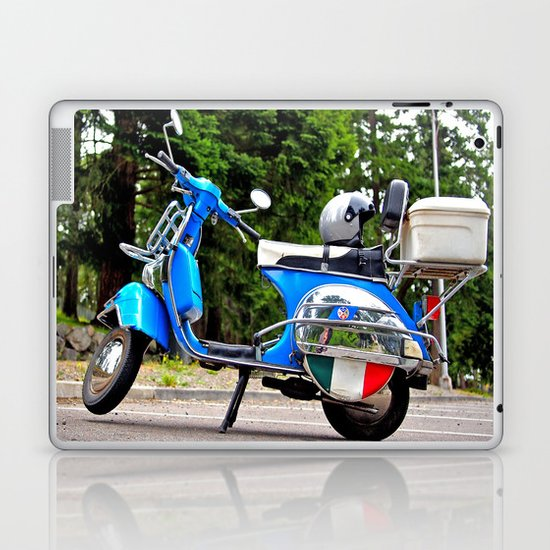 Vespa aesthetics Laptop & iPad Skin