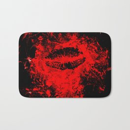 Gothic Bloody Kiss Bath Mat