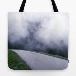 cloud walking Tote Bag
