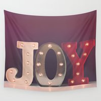 olivia joy Wall Tapestries featuring Joy by Jessica Torres Photography