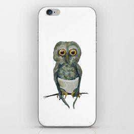 Owl in Underpants iPhone Skin