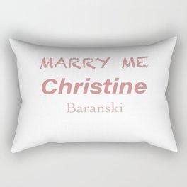 Queen Christine Baranski Rectangular Pillow