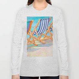 Beach Chairs 1 Long Sleeve T-shirt