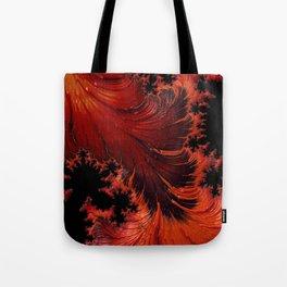 Hot Fractal Tote Bag