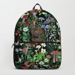 Rabbit and Strawberry Garden Backpack