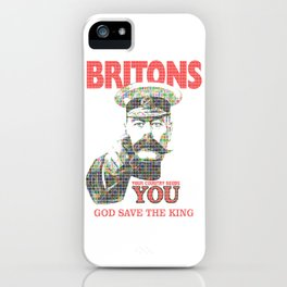 Your Country Needs You - Digital iPhone Case