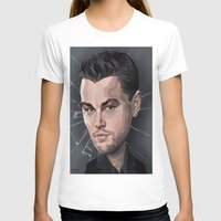 leonardo dicaprio T-shirts featuring DiCaprio Caricature by Stevie Ray Thompson