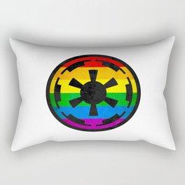 Rainbow Empire Rectangular Pillow