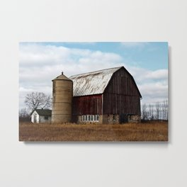 Wisconsin Dairy Barn Metal Print