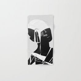 abstract portrait Hand & Bath Towel