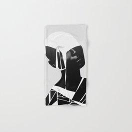 abstract portrait Hand & Bath Towel