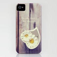 Think Happy iPhone (4, 4s) Slim Case