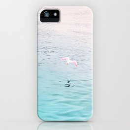 Seagull flying iPhone Case