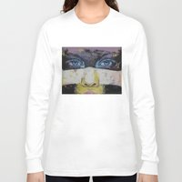 superhero Long Sleeve T-shirts featuring Superhero by Michael Creese