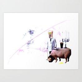 McPig Art Print