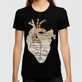 Sound Of My Heart (on white) T-shirt