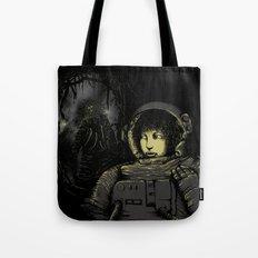 Space Horror Tote Bag