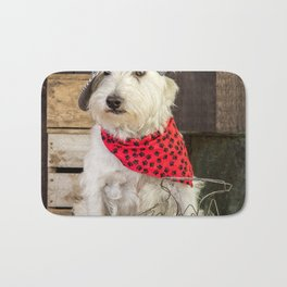 Farmer Dog Bath Mat