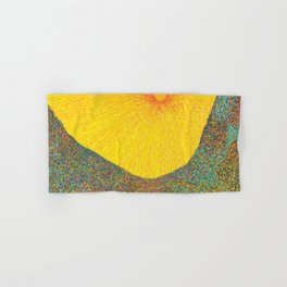 Here Comes the Sun - Van Gogh impressionist abstract Hand & Bath Towel