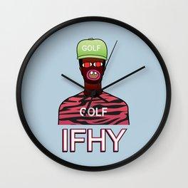 IFHY / Tyler the Creator Wall Clock