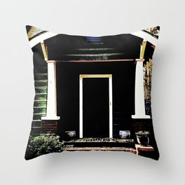 Side Stoop 975 Throw Pillow