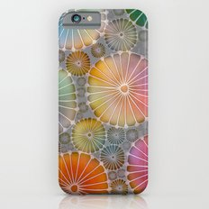 Abstract Floral Circles 4 iPhone 6s Slim Case