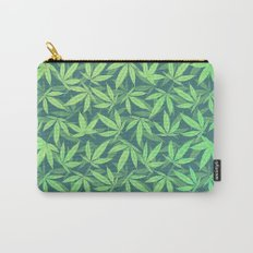 Cannabis / Hemp / 420 / Marijuana  - Pattern Carry-All Pouch
