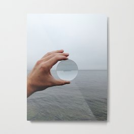 Convex Horizon Metal Print