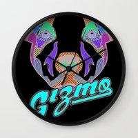 gizmo Wall Clocks featuring Gizmo by Gizmo