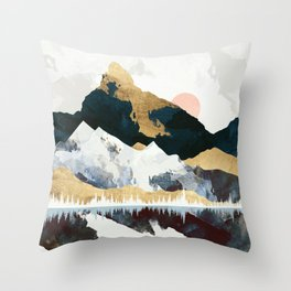 Winters Day Throw Pillow
