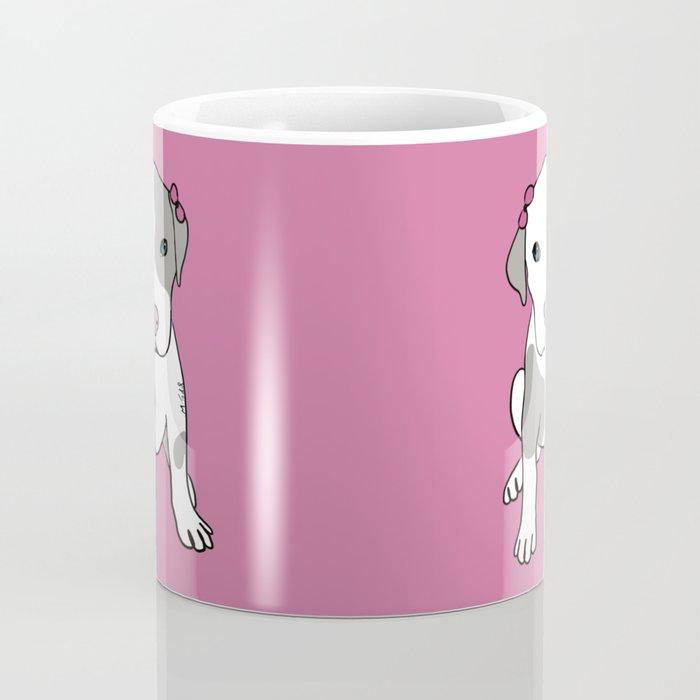 Millie The Pitbull Puppy Coffee Mug