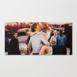 Noah and Allie Canvas Print