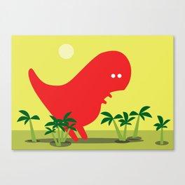 Tiranosaur Canvas Print
