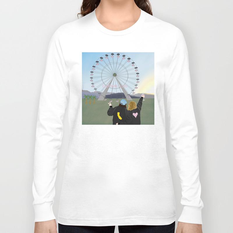 California Love Long Sleeve T-shirt by everybodylook