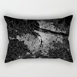 portland map Rectangular Pillow