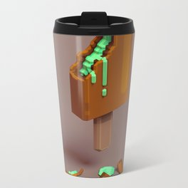 3D Ice-cream Metal Travel Mug