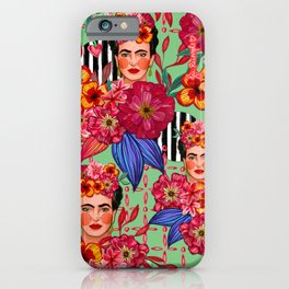Frida Bouquet iPhone Case