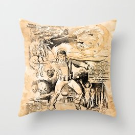 BEFORE STARLORD - SPACE DETECTIVE Throw Pillow